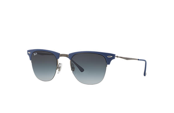 Ray-Ban 0RB8056-CLUBMASTER LIGHT RAY Blue; Gunmetal SUN