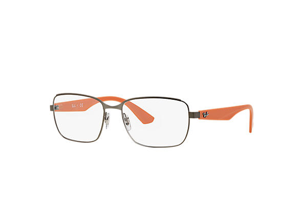 Ray-Ban 0RX6308-RB6308 Chumbo; Laranja OPTICAL