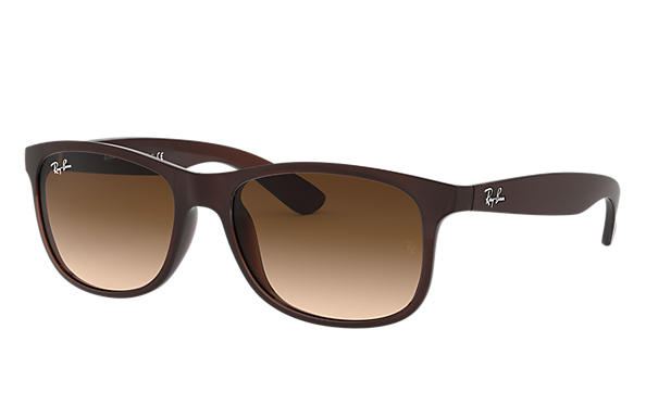 37eecccdc9 Ray-Ban Andy RB4202F Brown - Nylon - Brown Lenses - 0RB4202F60731357 ...