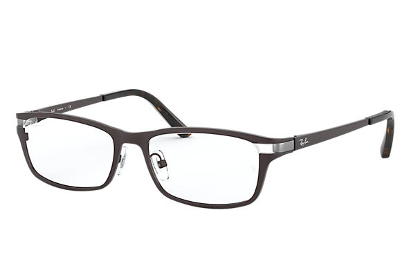 Ray-Ban 0RX8727D-RB8727D Brown OPTICAL