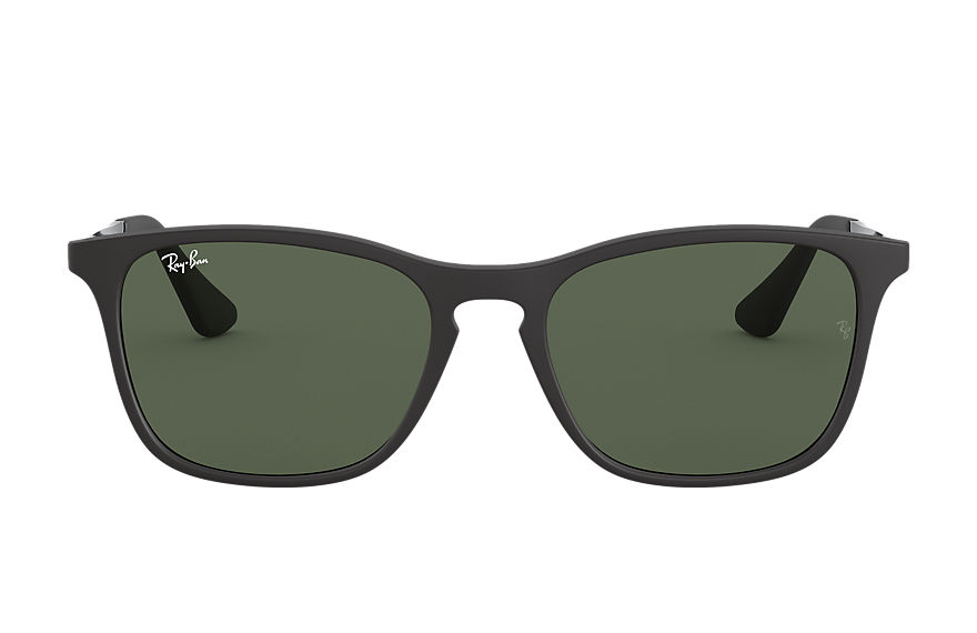 Ray-Ban CHRIS JUNIOR Black with Green Classic lens