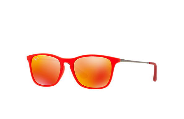 Ray-Ban		 0RJ9061S-CHRIS JUNIOR Red; Gunmetal SUN
