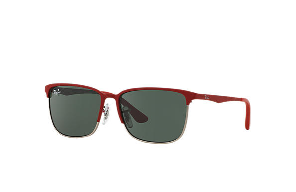 Ray-Ban 0RJ9535S-RJ9535S Red,Silver SUN