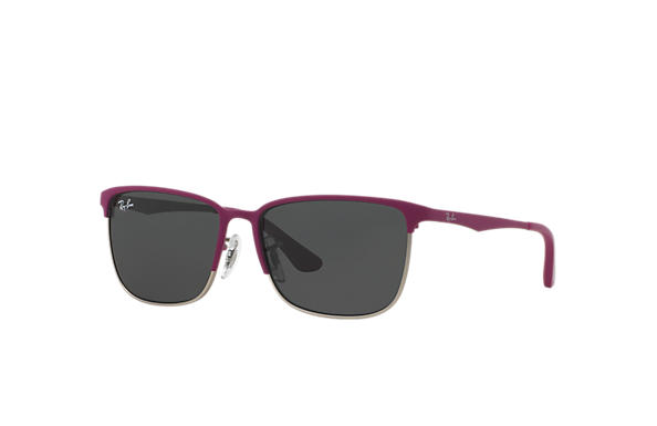 Ray-Ban 0RJ9535S-RJ9535S Viola-Rosso,Argento SUN