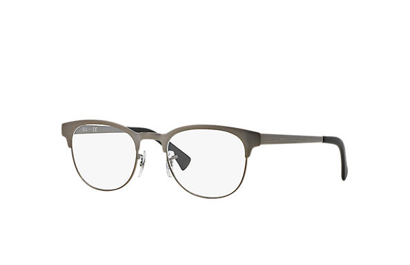 aa8c113ec72 Ray-Ban prescription glasses RB6317 Gunmetal - Metal - 0RX6317283451 ...