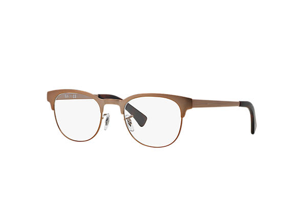 Ray-Ban 0RX6317-RB6317 Brown OPTICAL