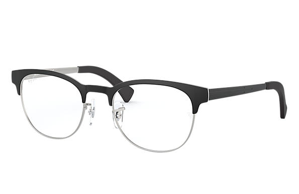 Ray-Ban 0RX6317-RB6317 Nero,Argento OPTICAL
