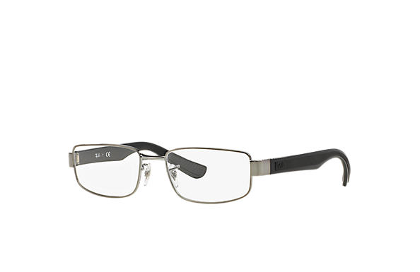 Ray-Ban 0RX6318-RB6318 Gunmetal; Black OPTICAL