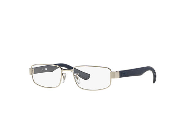 Ray-Ban 0RX6318-RB6318 Silver; Blue OPTICAL