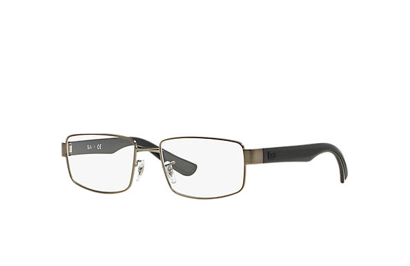 Ray-Ban 0RX6319-RB6319 Gunmetal; Black OPTICAL