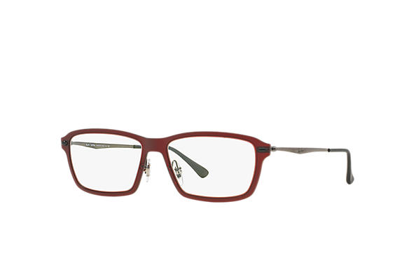 Ray-Ban 0RX7038-RB7038 Red; Gunmetal OPTICAL