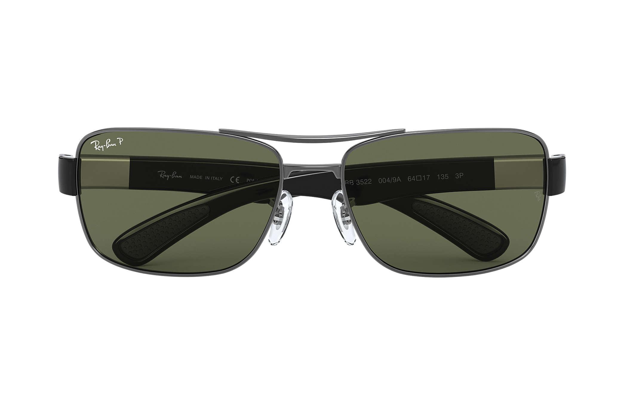 Verde Gunmetal Polarizadas Rb3522 Ban Ray Metal Lentes qSUzjGLMVp