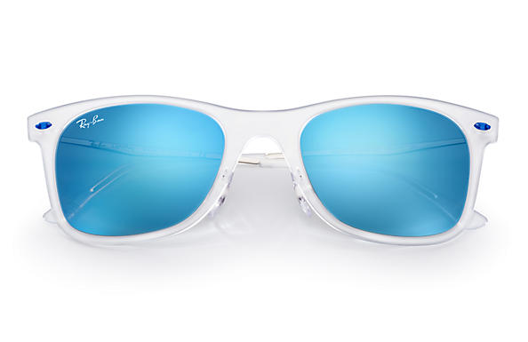... Ray-Ban 0RB4210-WAYFARER LIGHT RAY Transparent; Silver SUN