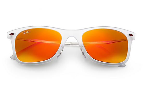 Ray-Ban Wayfarer Light Ray RB4210 Transparent - LightRay Titanium ...