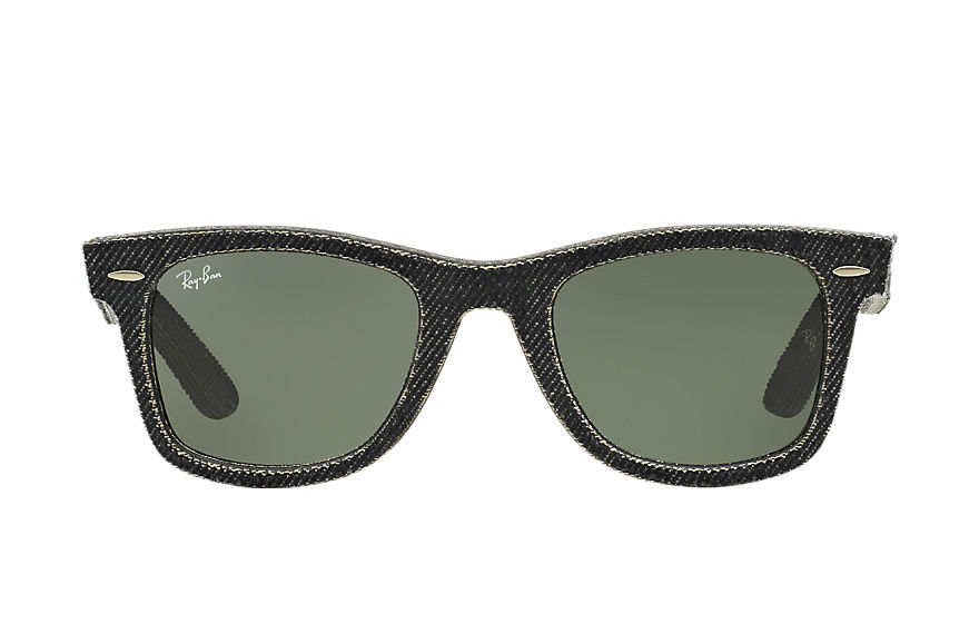 Ray-Ban  lunettes de soleil RB2140 UNISEX 048 original wayfarer denim black denim 8053672304718