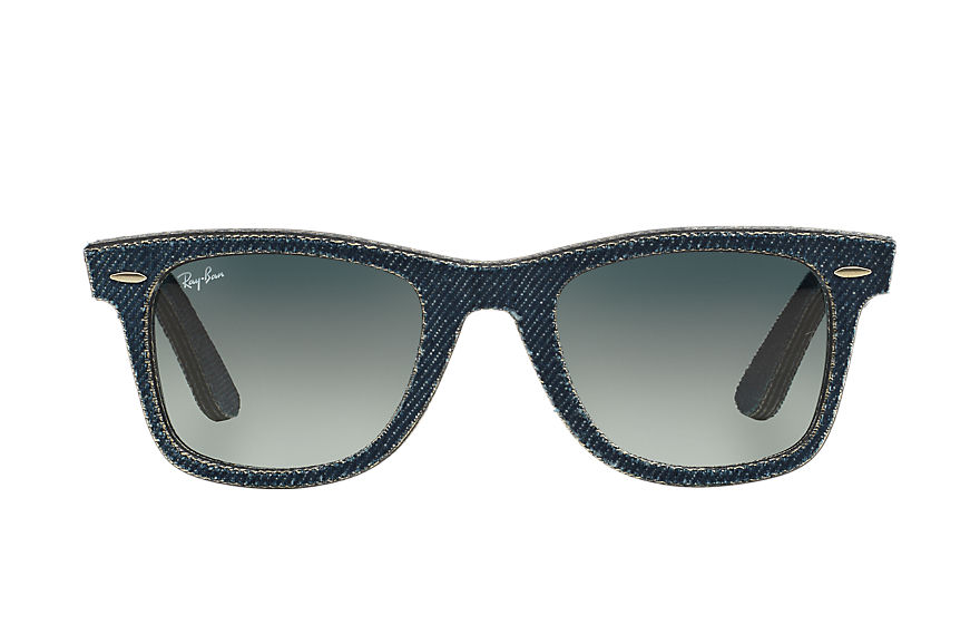 Ray-Ban ORIGINAL WAYFARER DENIM Blue Denim con lente Grigio Sfumata
