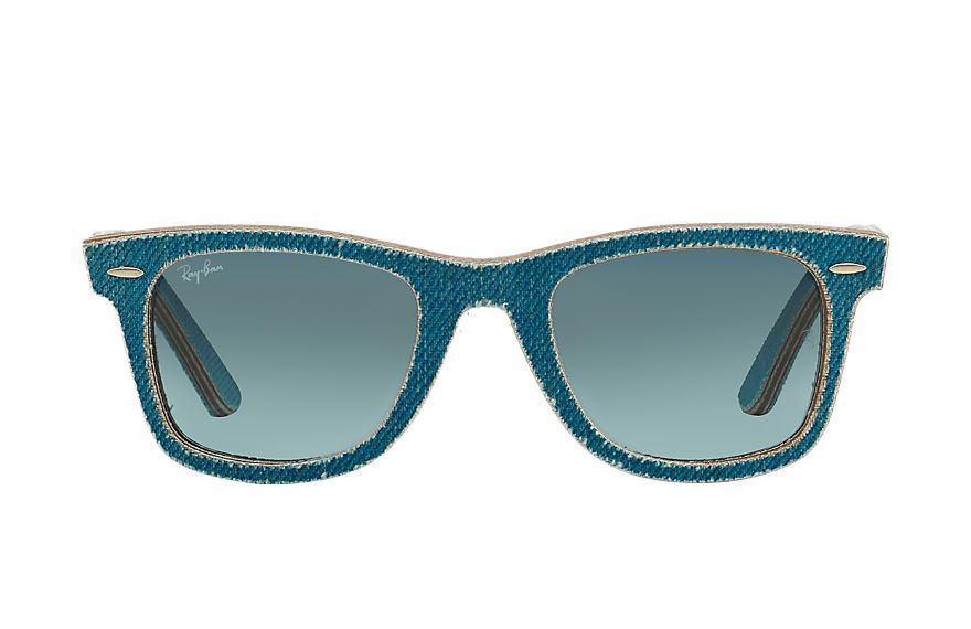 Ray-Ban  lunettes de soleil RB2140 UNISEX 068 original wayfarer denim light blue denim 8053672304732
