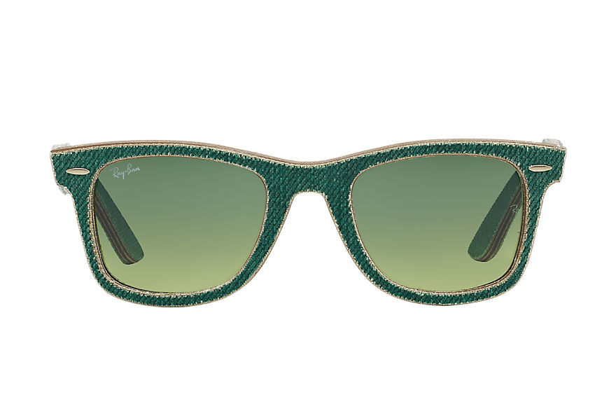 Ray-Ban  lunettes de soleil RB2140 UNISEX 082 original wayfarer denim green denim 8053672304749