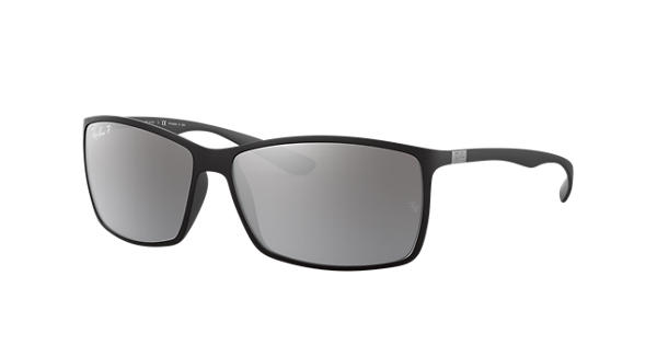 6df94ff9803 Ray-Ban RB4179 Black - Liteforce - Silver Polarized Lenses -  0RB4179601S8262