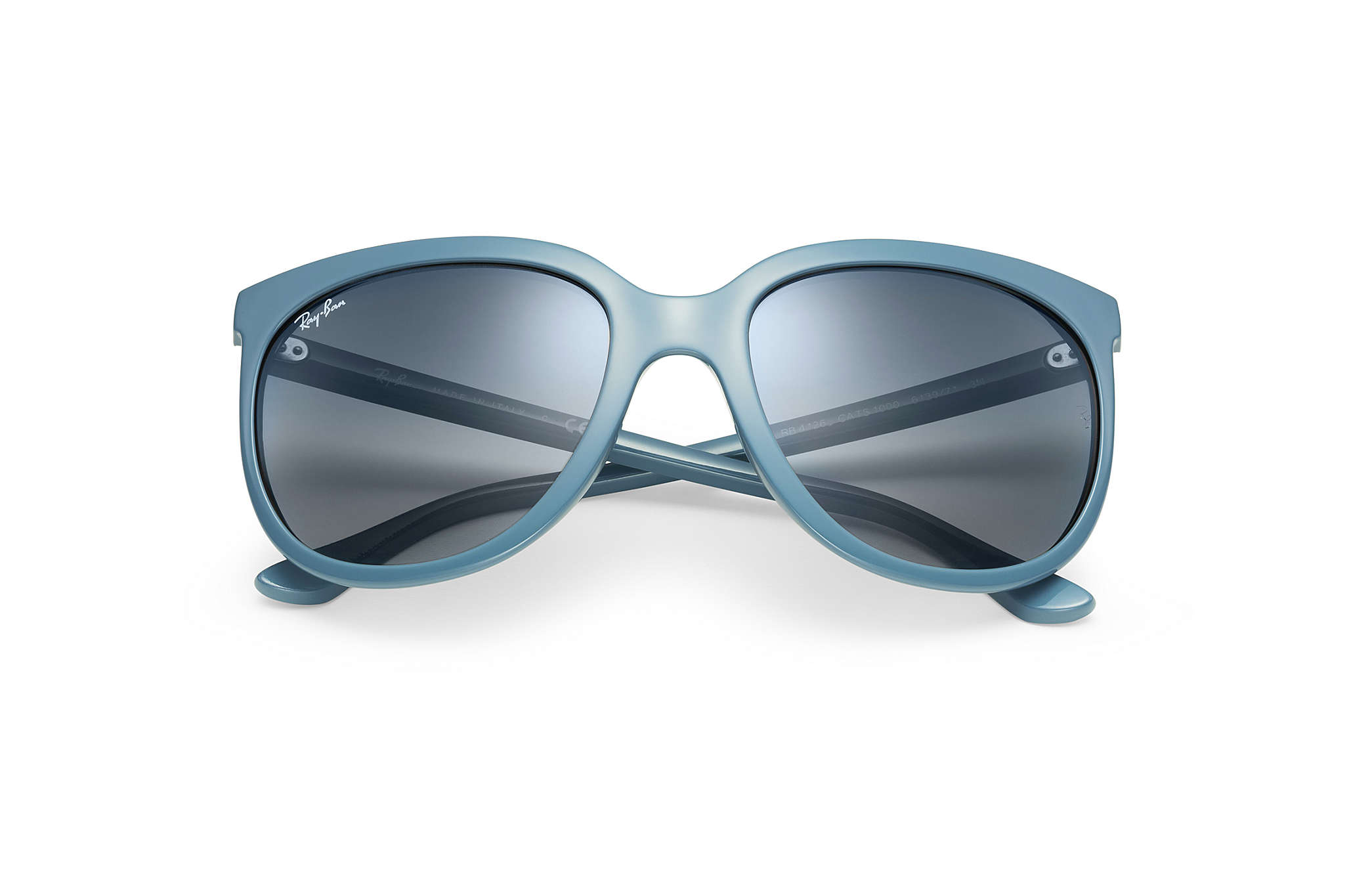 ee79233f31 Ray-Ban Cats 1000 RB4126 Blue - Nylon - Grey Lenses ...