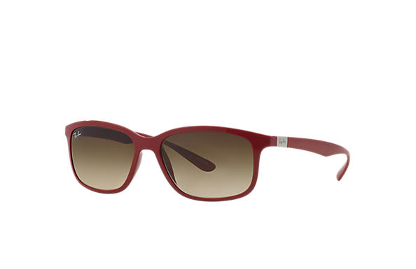 Ray-Ban RB4215 Red with Brown Gradient lens