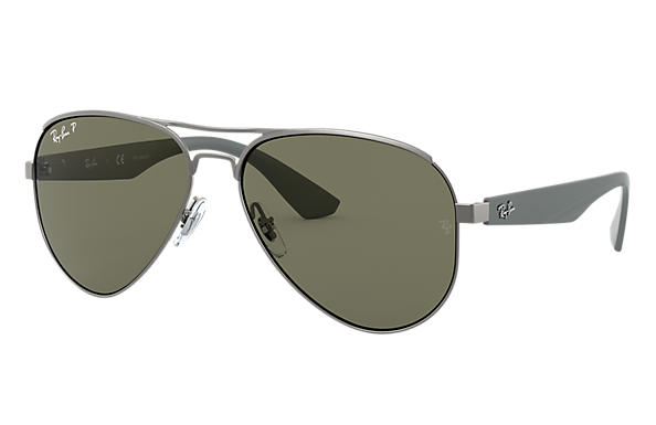 Ray-Ban 0RB3523-RB3523 Gunmetal; Grey SUN