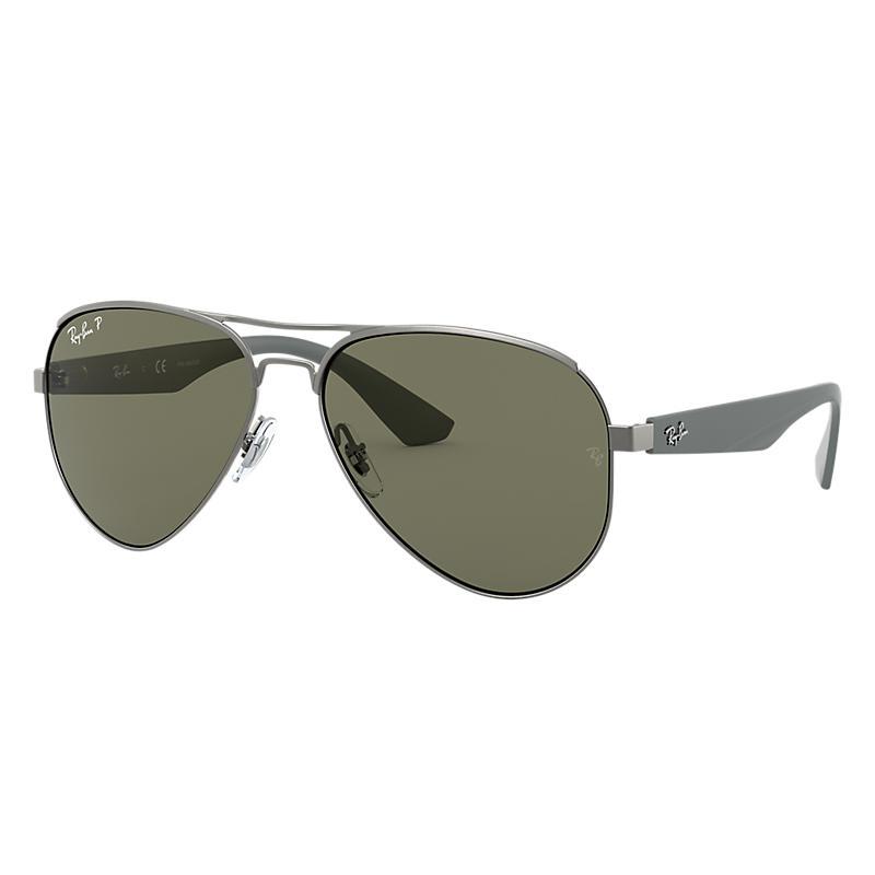 cf16c3140b7 Ray Ban Rb3523 Man Sunglasses Lenses  Green Polarized