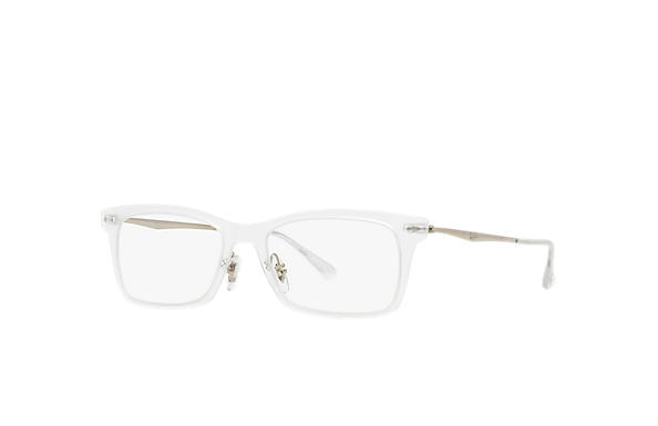 Ray-Ban 0RX7039-RB7039 Transparent; Silver OPTICAL