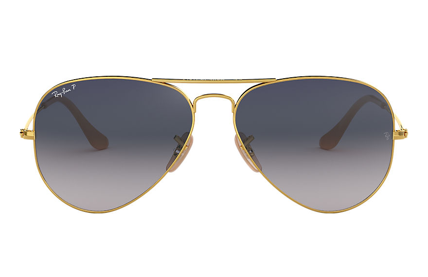 Ray-Ban  sunglasses RB3025 UNISEX 025 aviator gradient polished gold 8053672338959