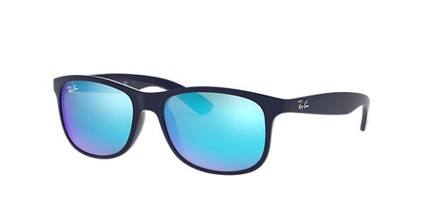 230ce97e40 Ray-Ban Andy RB4202 Blue - Nylon - Blue Lenses - 0RB420261535555 ...
