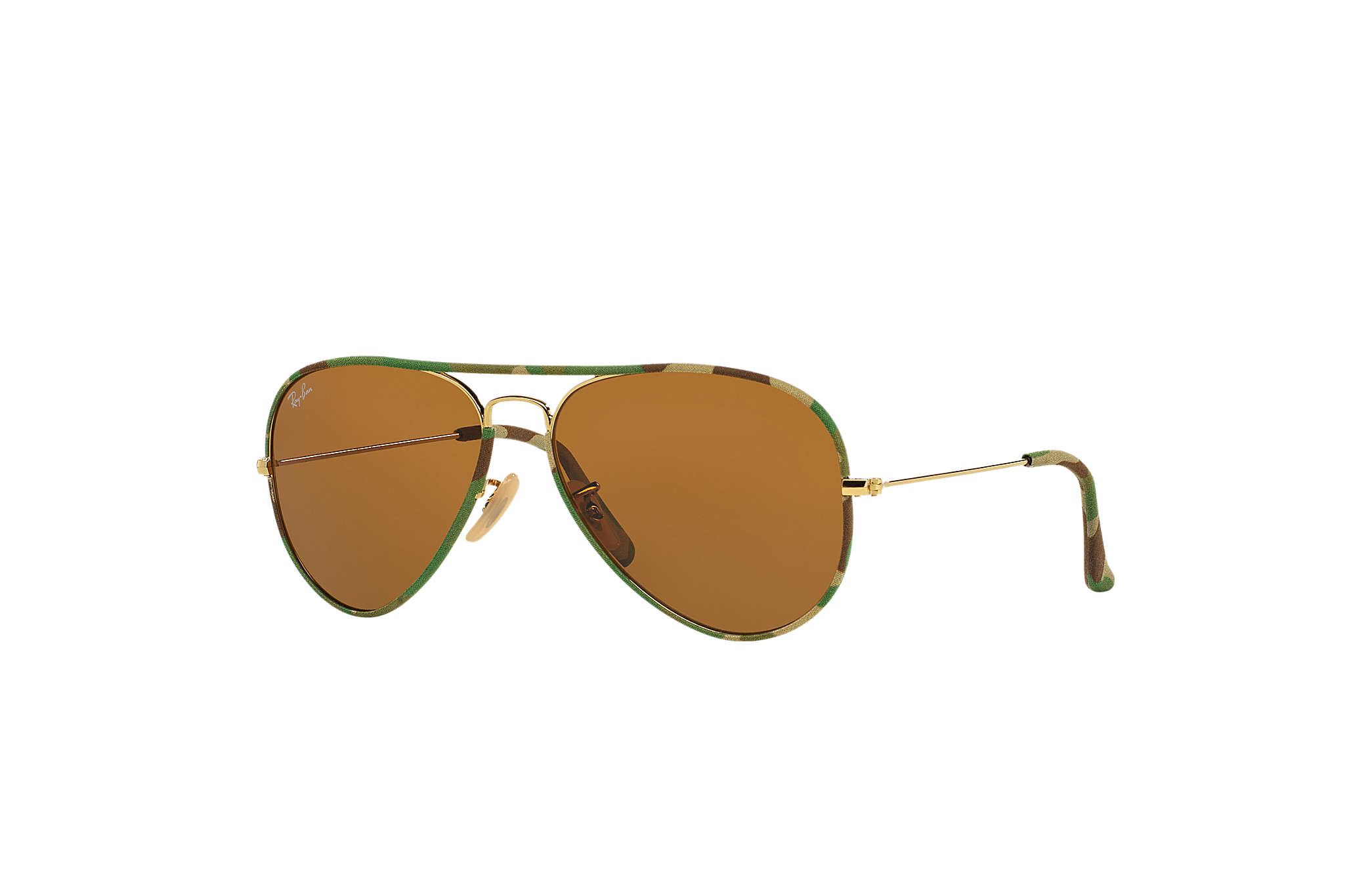 Ray-Ban Aviator Full Color RB3025JM Multicolorida - Metal - Lentes ... a60da6d520