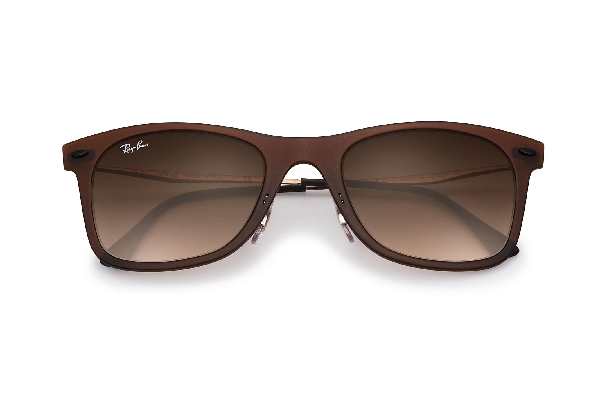 4669b7927a445 ... sunglasses c3104 d8501  authentic ray ban 0rb4210 wayfarer light ray  brown sun a82ae 3b0d4