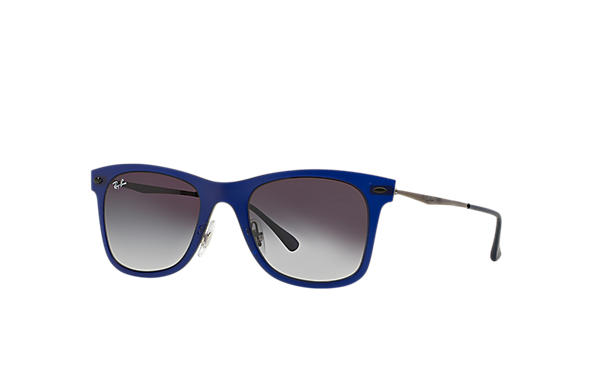Ray-Ban 0RB4210-WAYFARER LIGHT RAY Bleu; Gun SUN