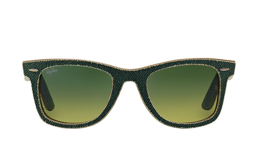 Ray-Ban  sunglasses RB2140F UNISEX 043 original wayfarer denim 데님그린 8053672349580