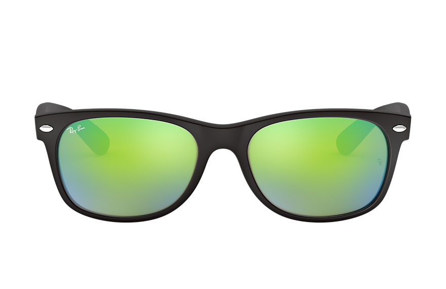 Ray-Ban  gafas de sol RB2132 UNISEX 002 new wayfarer flash negro 8053672351385