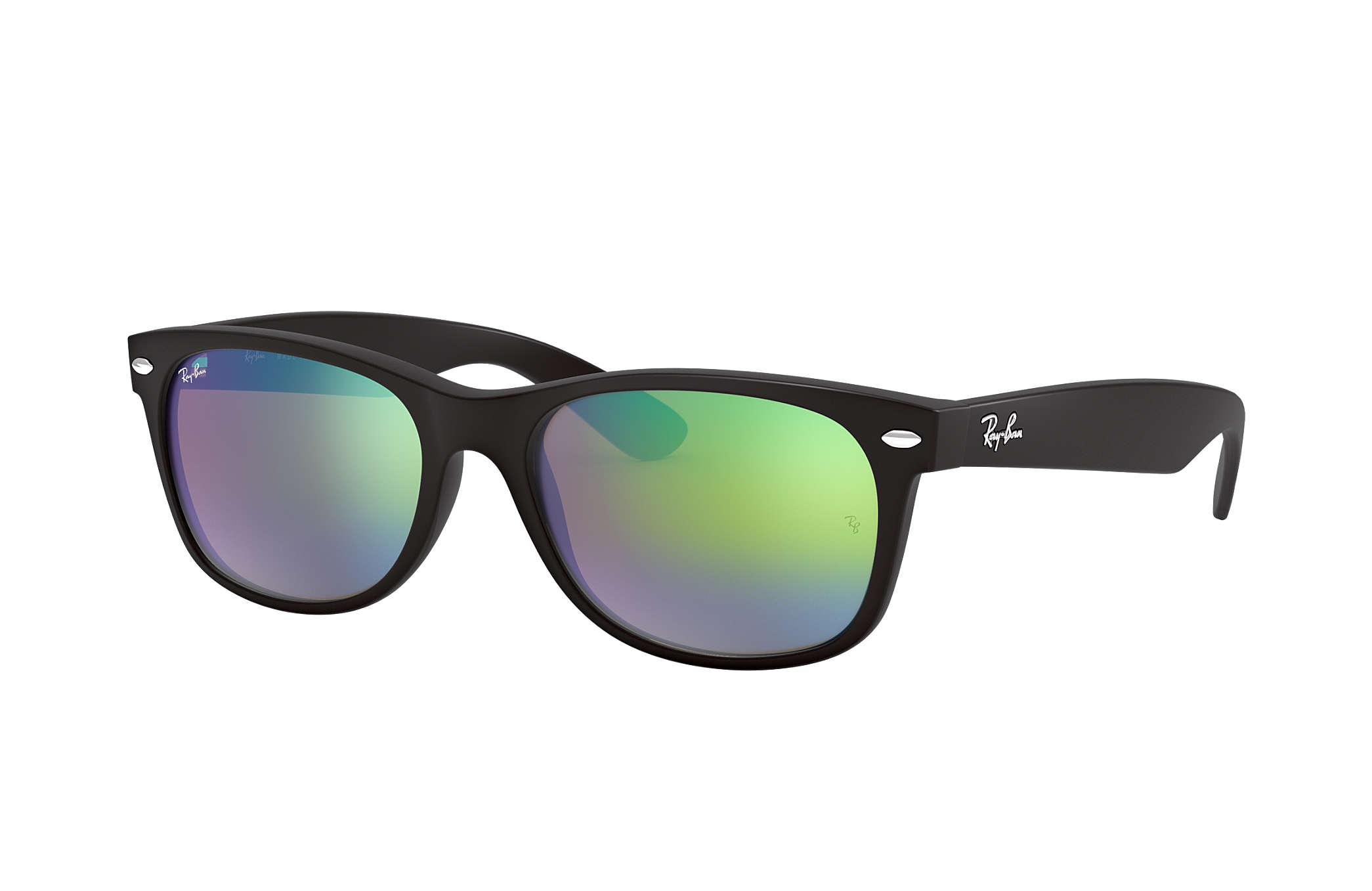 ray-ban new wayfarer flash lenses sunglasses