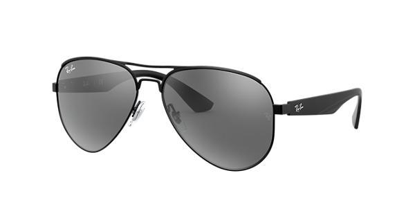 9a61260a0cea4 Ray-Ban RB3523 Black - Metal - Grey Lenses - 0RB3523006 6G59