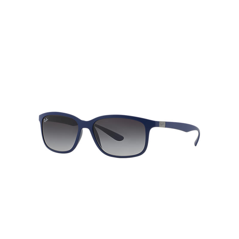 Ray-Ban Blue Sunglasses, Gray Lenses - Rb4215