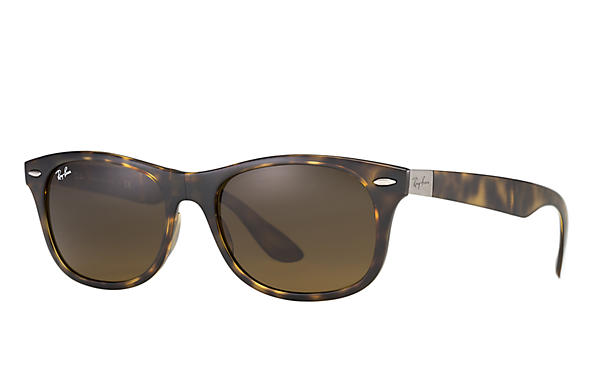 111b47a2cf7 Ray-Ban New Wayfarer Folding Liteforce RB4223 Brown - Liteforce ...