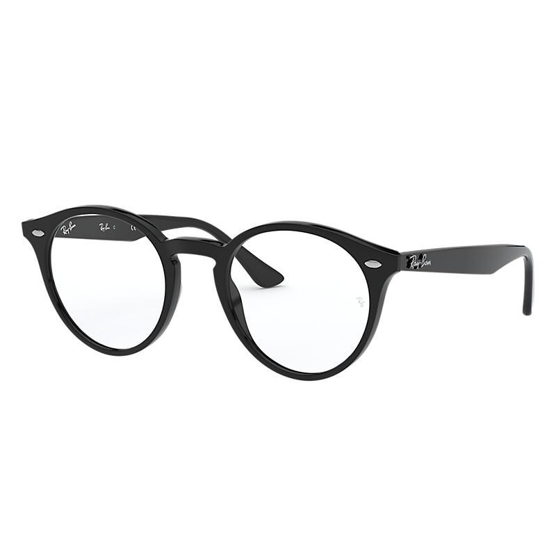 Image of Ray-Ban Black Eyeglasses - Rb2180v