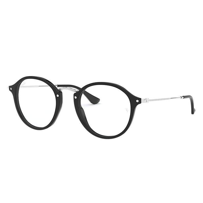 Image of Ray-Ban Black Eyeglasses - Rb2447v