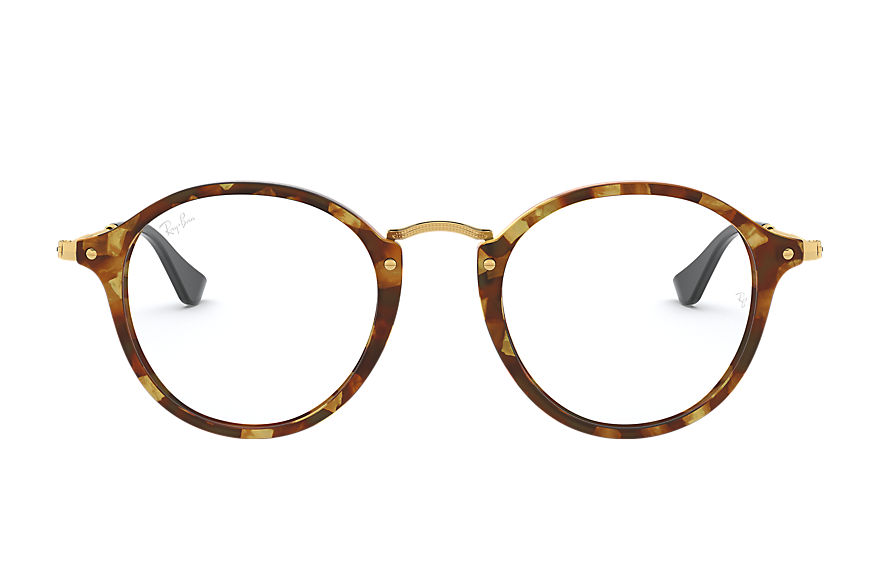Ray-Ban Eyeglasses ROUND FLECK OPTICS Tortoise