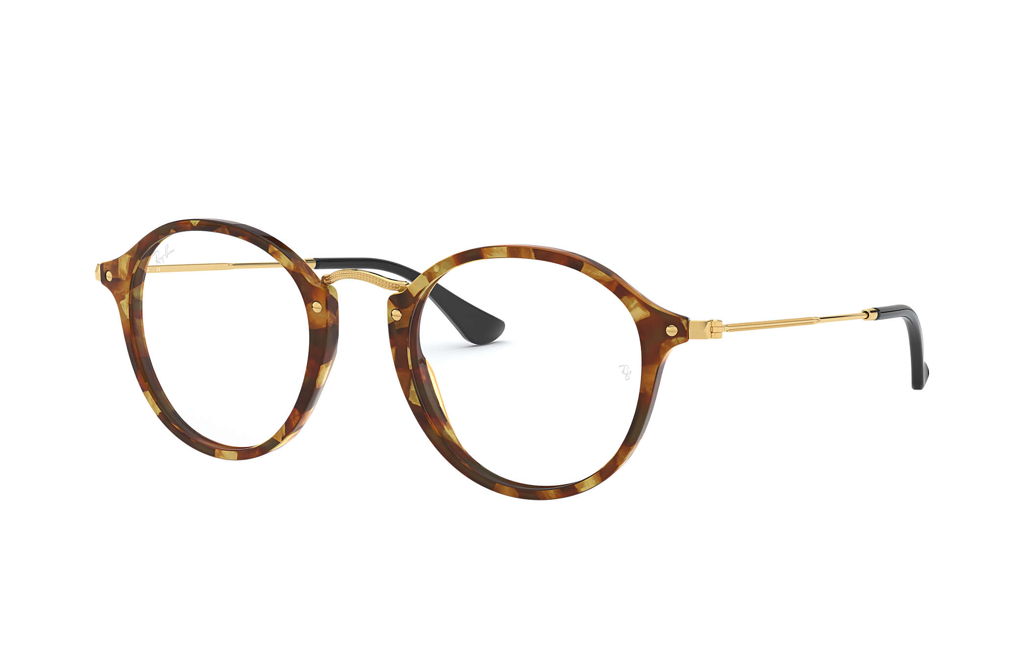 ray ban round fleck sehbrille