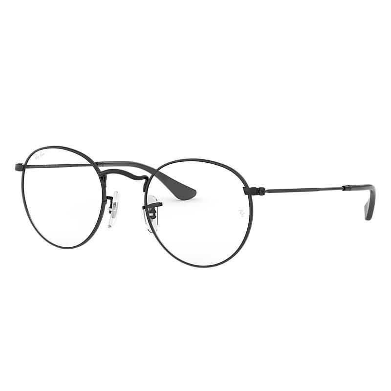 Image of Ray-Ban Black Eyeglasses - Rb3447v