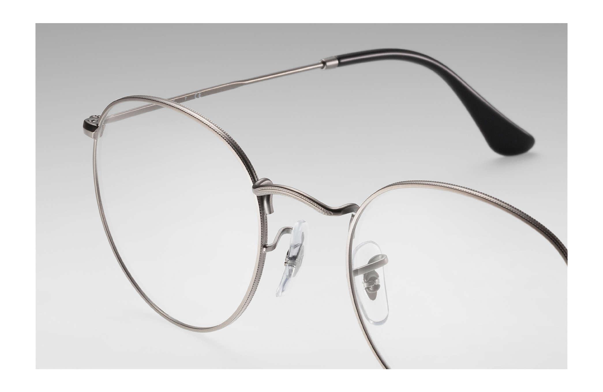 1a1afe4bec Ray-Ban eyeglasses Round Metal Optics RB3447V Gunmetal - Metal ...