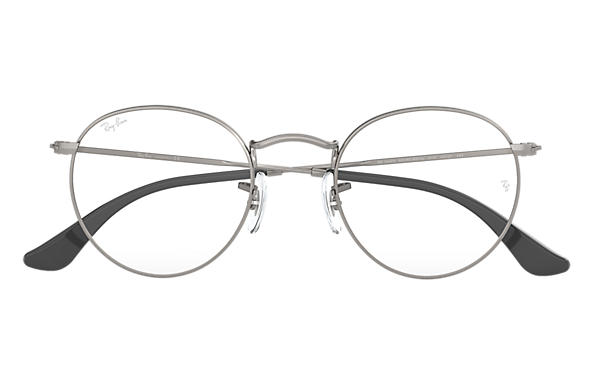 Ray-Ban ROUND METAL OPTICS Gunmetal
