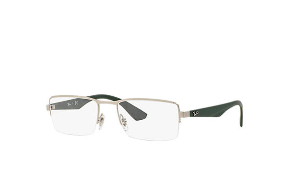 Ray-Ban 0RX6331-RB6331 Silver; Green OPTICAL