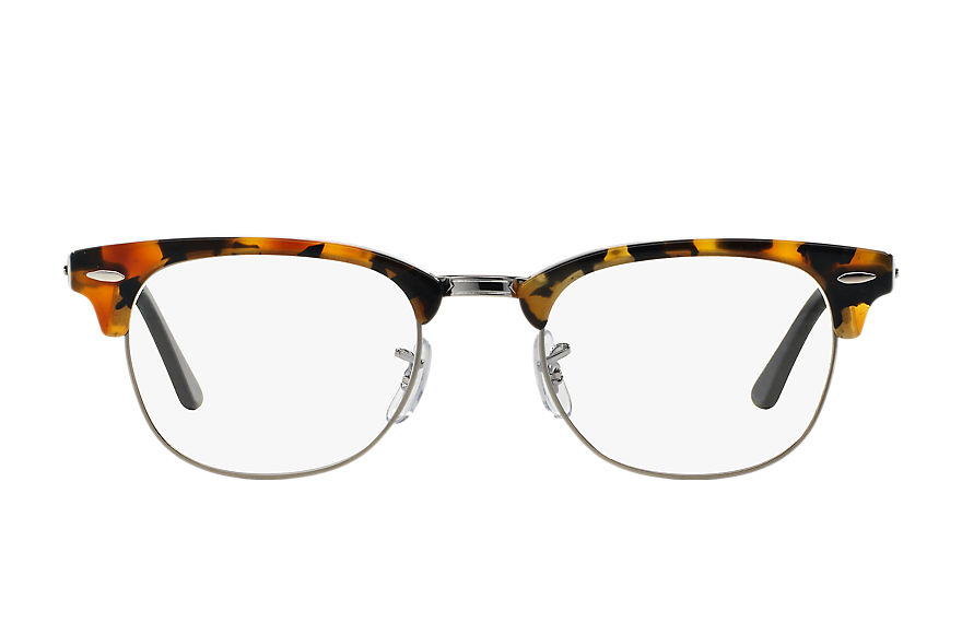 Ray-Ban  eyeglasses RX5154 UNISEX 008 clubmaster fleck optics 호피색 8053672357219