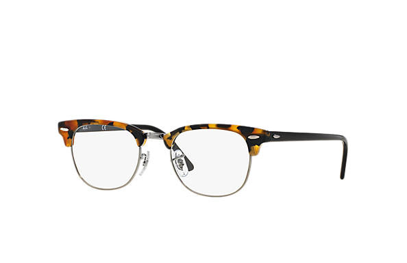 4b2fb56d0724e Óculos de grau Ray-Ban Clubmaster Optics RB5154 Tartaruga - Acetato ...