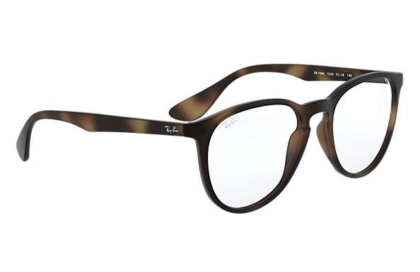 Glasögon Ray Ban Erika Optics RB7046 Sköldpaddsfärgad